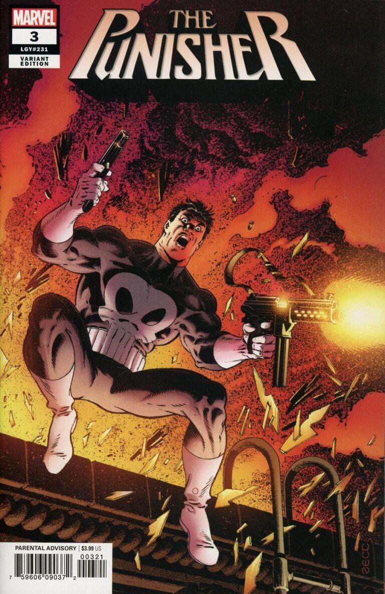 Punisher Vol 12 #3 Zeck Variant