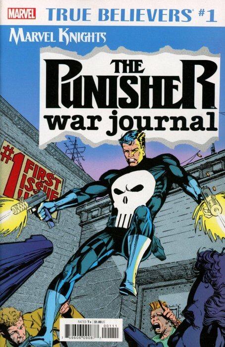 True Believers the Punisher War Journal