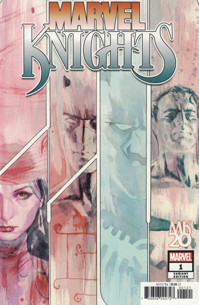 Marvel Knights 20th #1 g David Mack