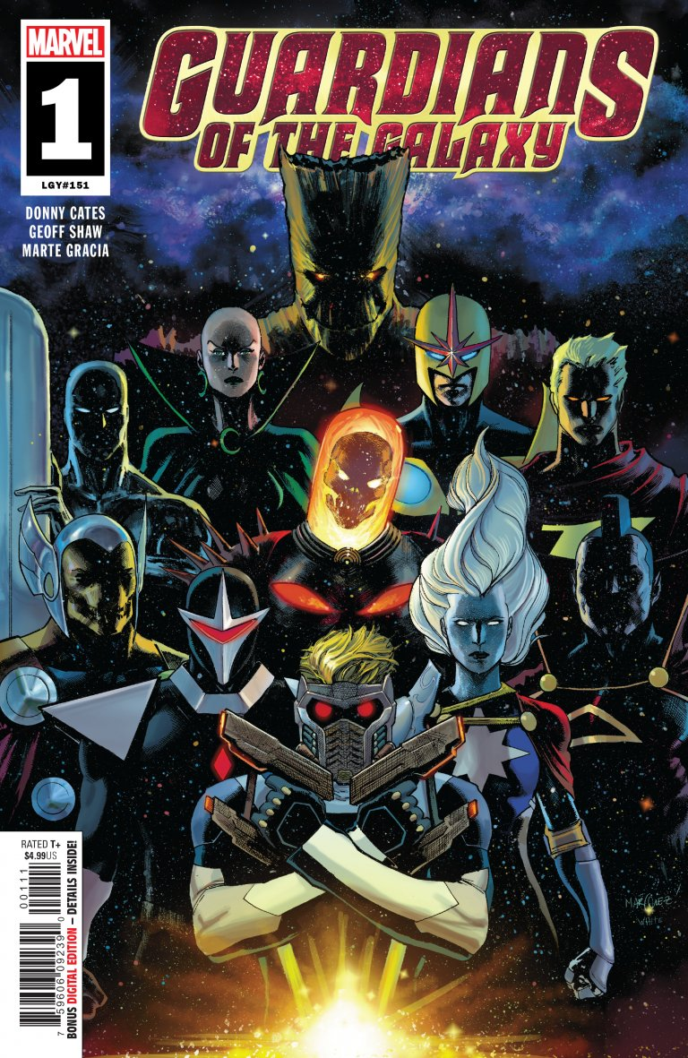 Guardians of the Galaxy Vol 5 #1