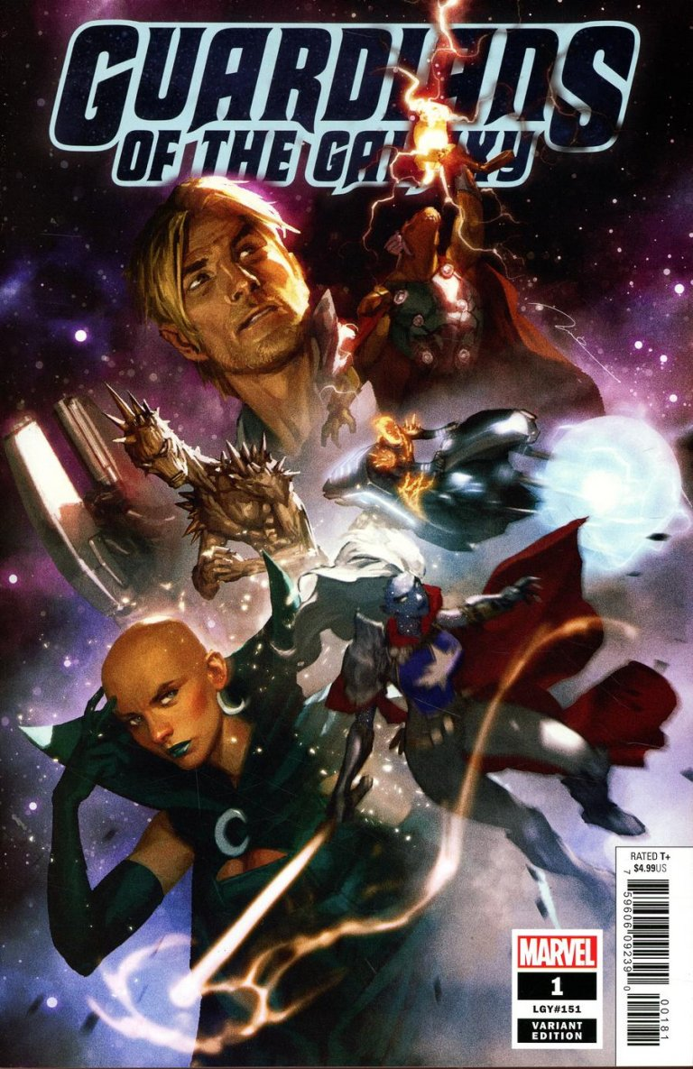 Guardians of the Galaxy Vol 5 #1 Parel Variant