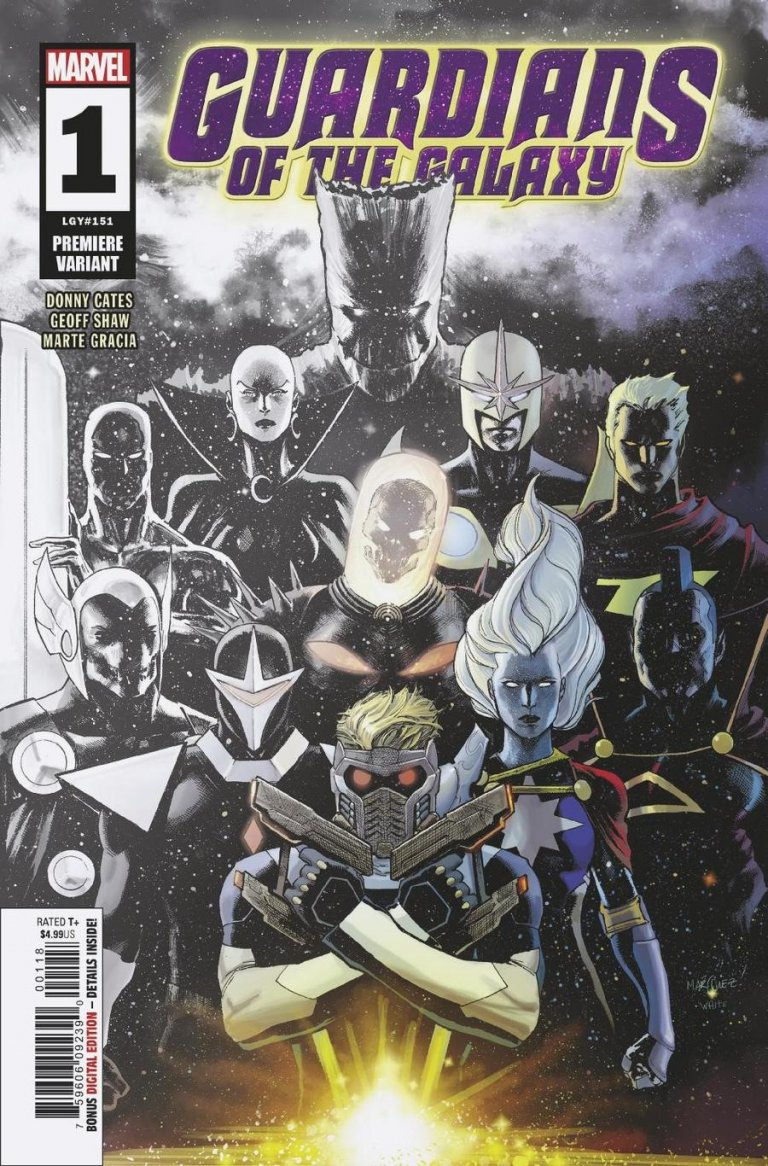 Guardians of the Galaxy Vol 5 #1 Marquez Premiere Variant
