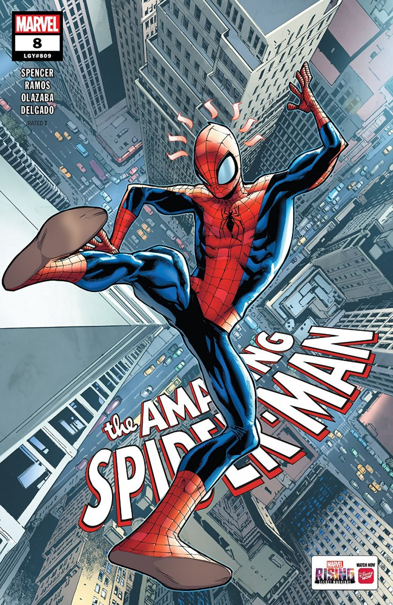 Amazing Spider-Man Vol 5 #8