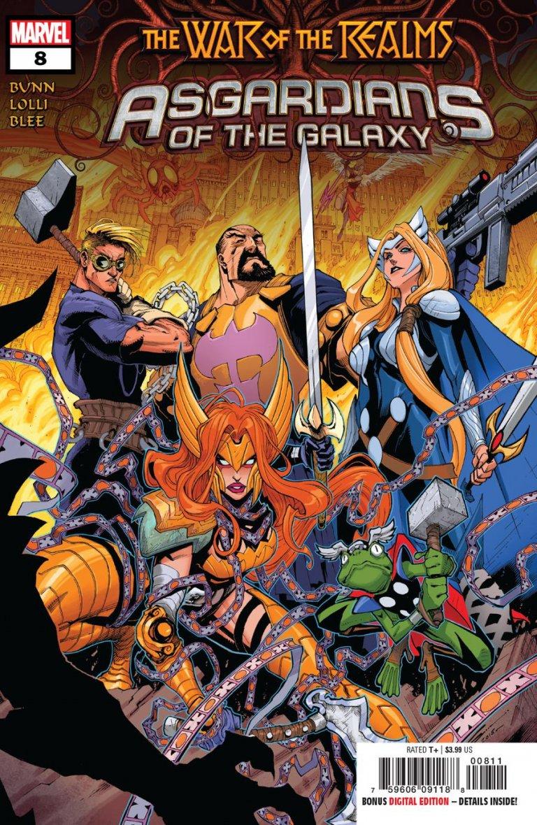 Asgardians of the Galaxy Vol 1 #8
