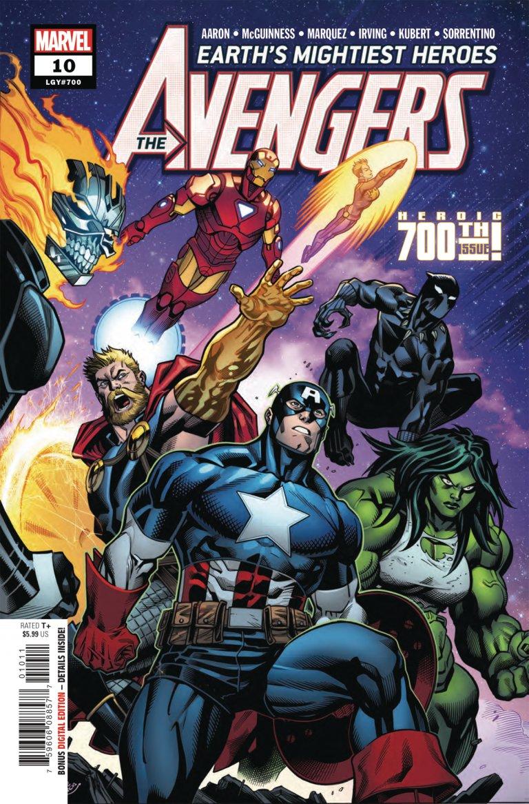 Avengers (2018) #10