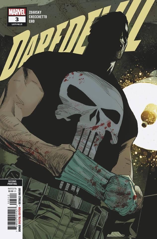 Daredevil Vol 6 #3 2nd print