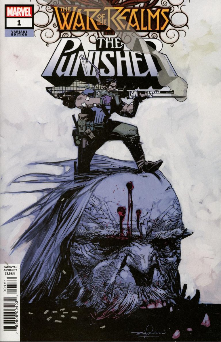 War of the Realms: Punisher Zaffino Variant