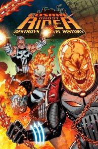 Cosmic Ghost Rider Destroys Marvel History #1 Lim variant