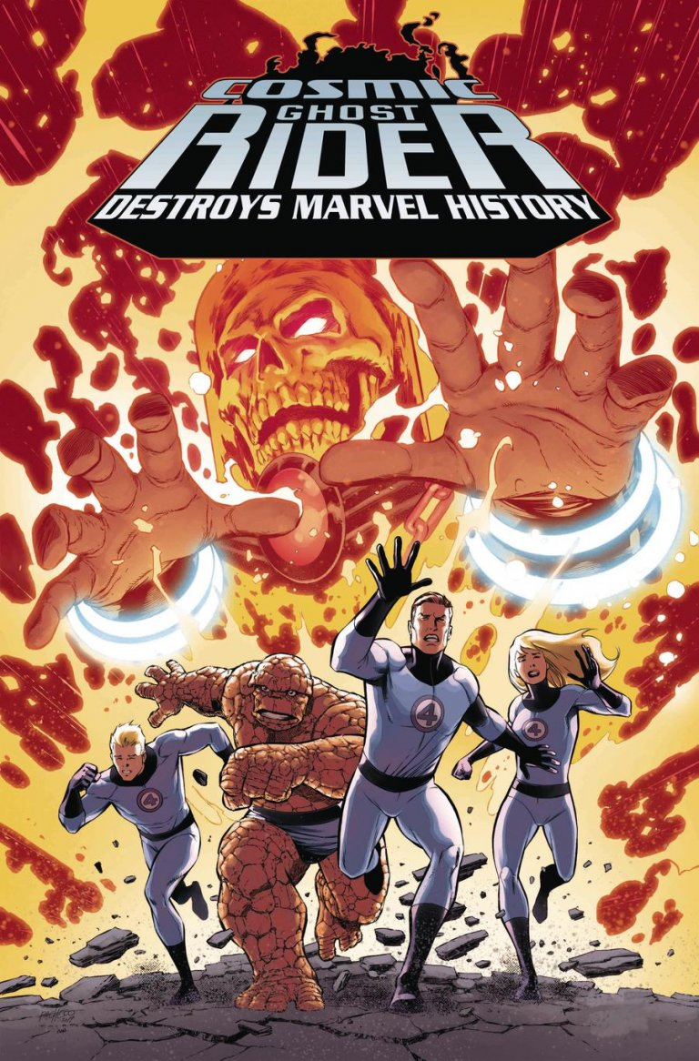Cosmic Ghost Rider Destroys Marvel History #1 Pacheco variant