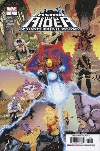 Cosmic Ghost Rider Destroys Marvel History #1 Zaffino variant