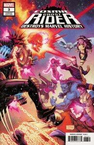 CGR Destroys Marvel History #3 Shalvey Variant