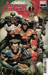 Savage Avengers #1 Yu variant