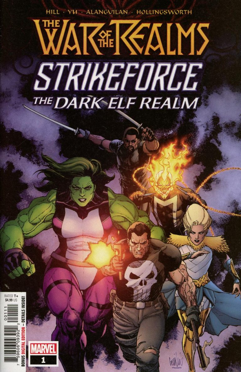 War of the Realms: Strikeforce the Dark Elf Realm #1