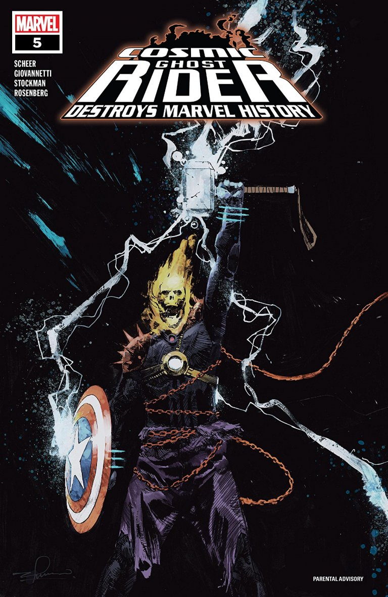Cosmic Ghost Rider Destroys Marvel History #5
