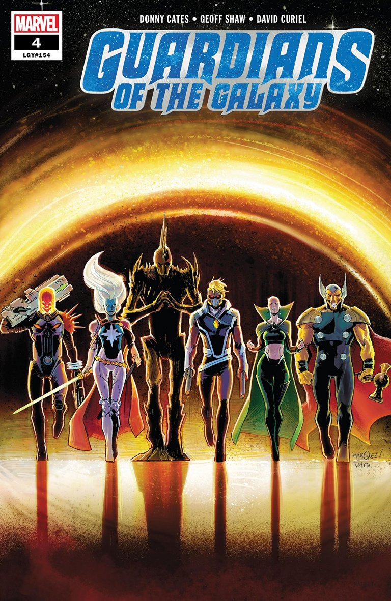 Guardians of the Galaxy Vol 5 #4
