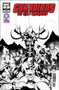 Guardians of the Galaxy Vol 5 #5 Retailer Summit variant