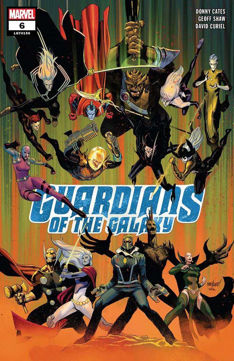 Guardians of the Galaxy Vol 5 #6