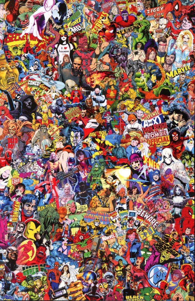 Marvel Comics #1000 j Mr. Garcin Variant
