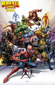 Marvel Comics #1000 r Clayton Crain variant