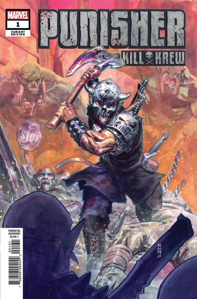 Punisher Kill Crew #1 Nic Klein variant