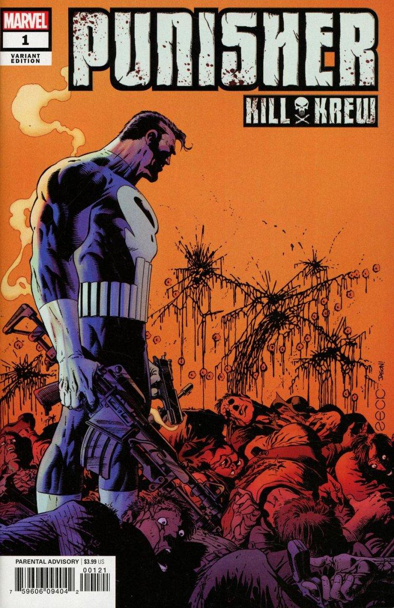 Punisher Kill Krew #1 Zeck Variant