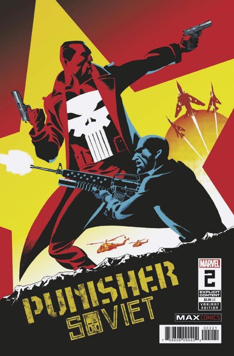 Punisher Soviet 2 b Marcos Martin variant