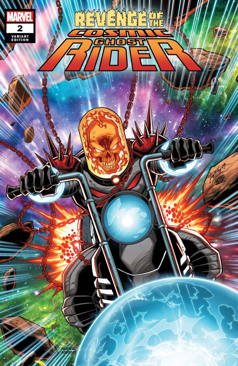 Revenge of the Cosmic Ghost Rider #2 Lim variant