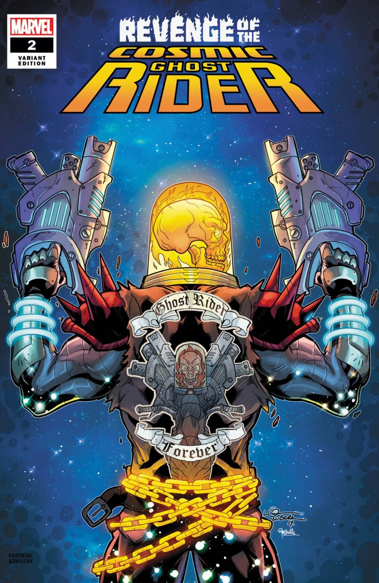 Revenge of the Cosmic Ghost Rider #2 Lubera variant