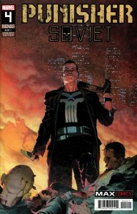 Punisher Soviet #4 Esad Ribic variant
