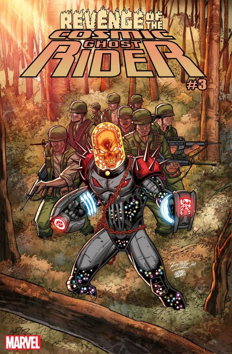 Revenge of the Cosmic Ghost Rider #3 Ron Lim Variant