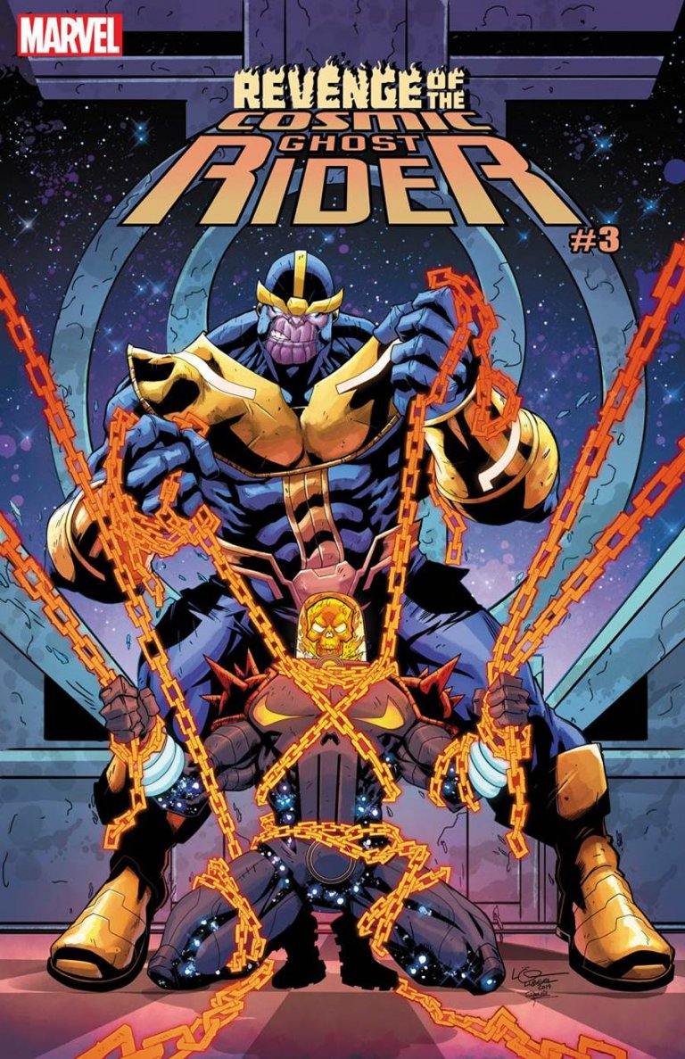 Revenge of the Cosmic Ghost Rider #3 Lubera Variant
