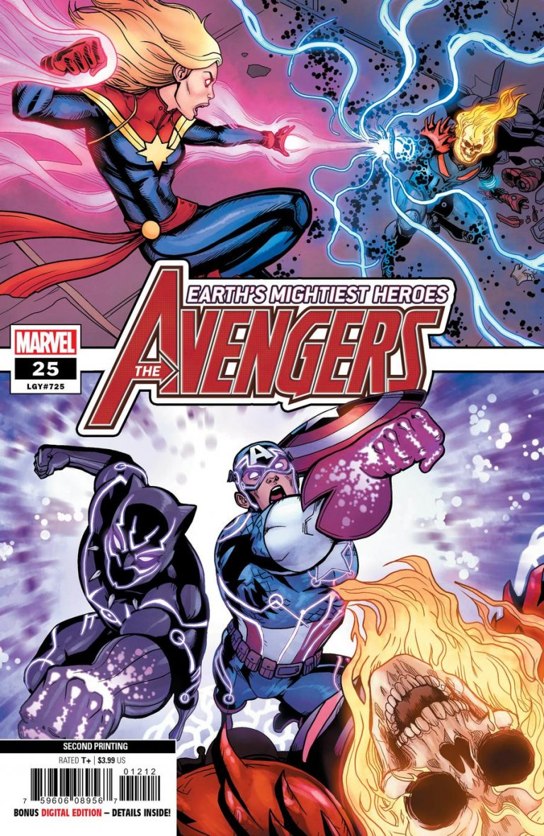 Avengers Vol 8 #25 2nd Print