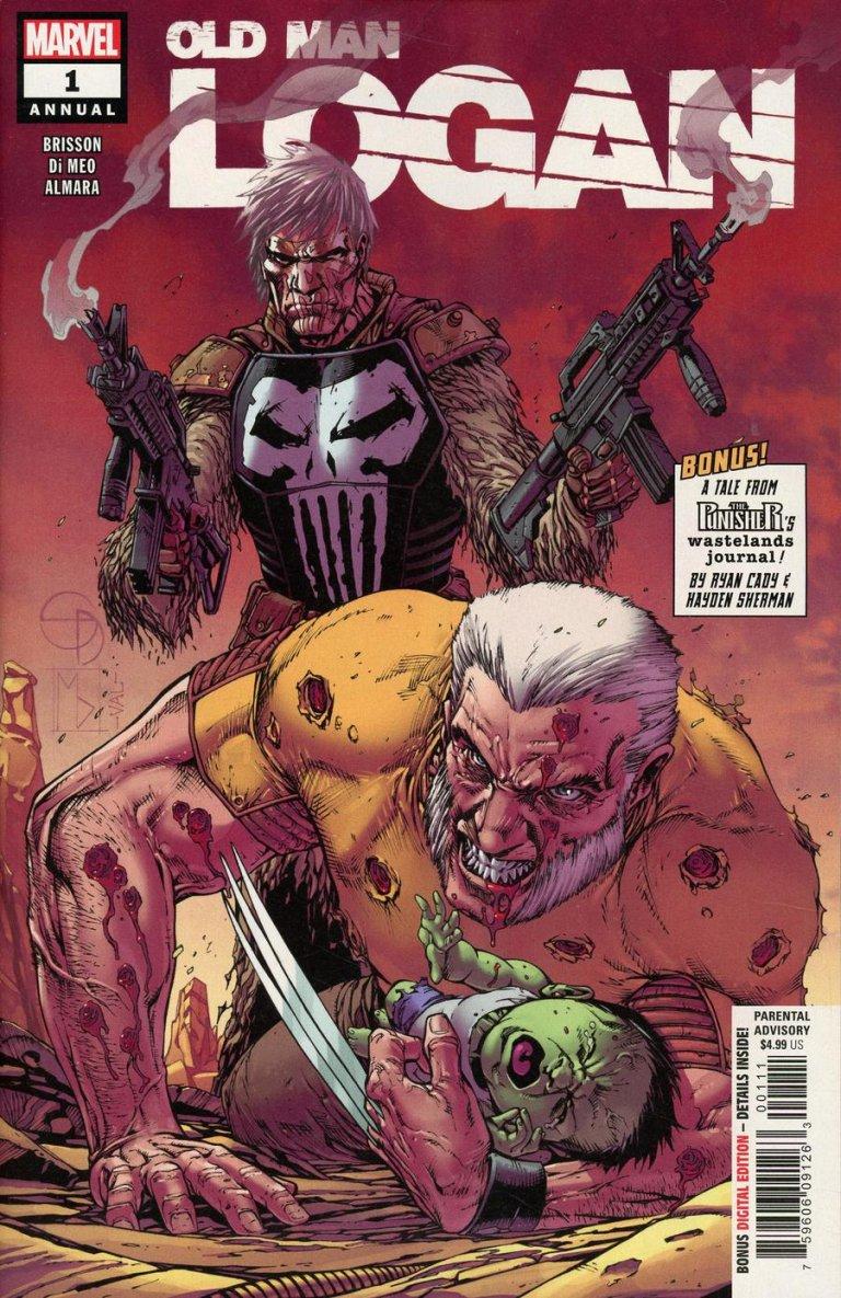 Old Man Logan Vol 2 Annual1 #1