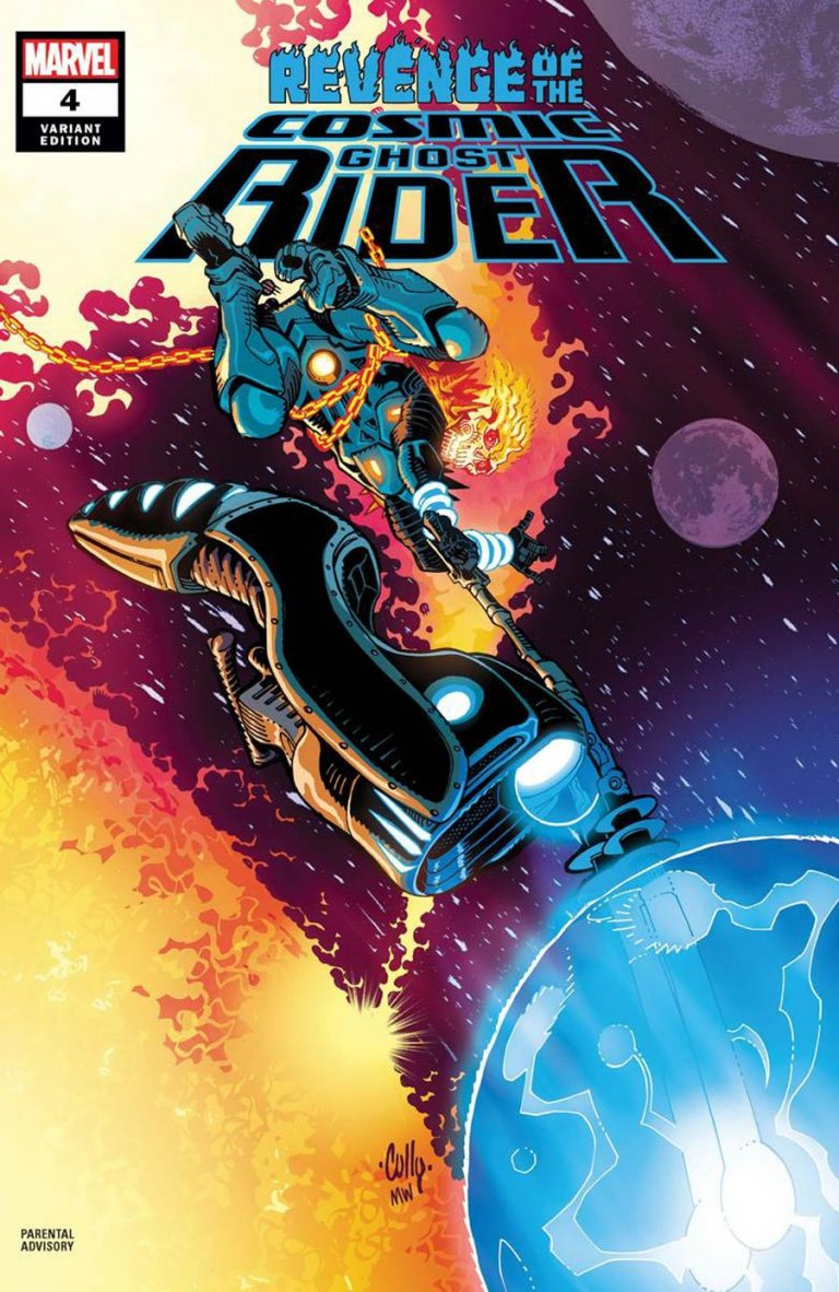 Revenge of the Cosmic Ghost Rider #4 c Cully Hamner Variant