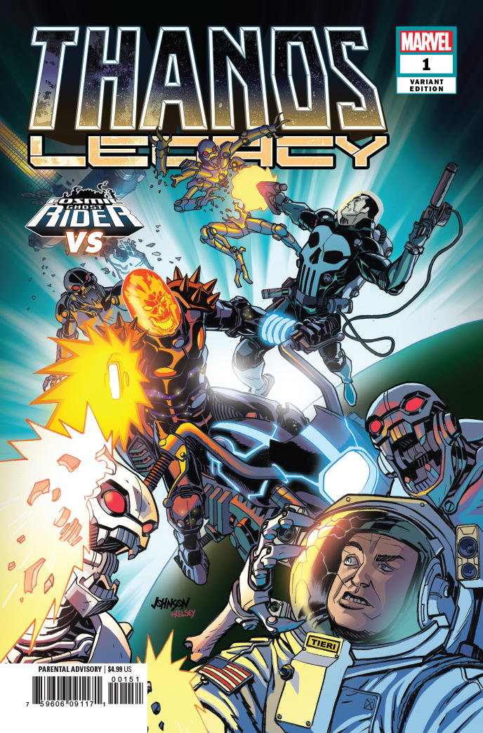 Thanos Legacy #1 Dave Johnson Variant