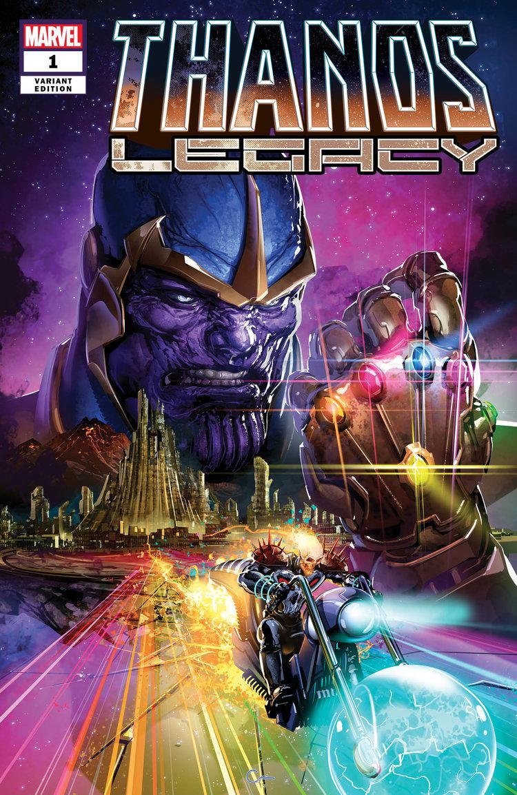 Thanos Legacy #1 Clayton Crain Variant