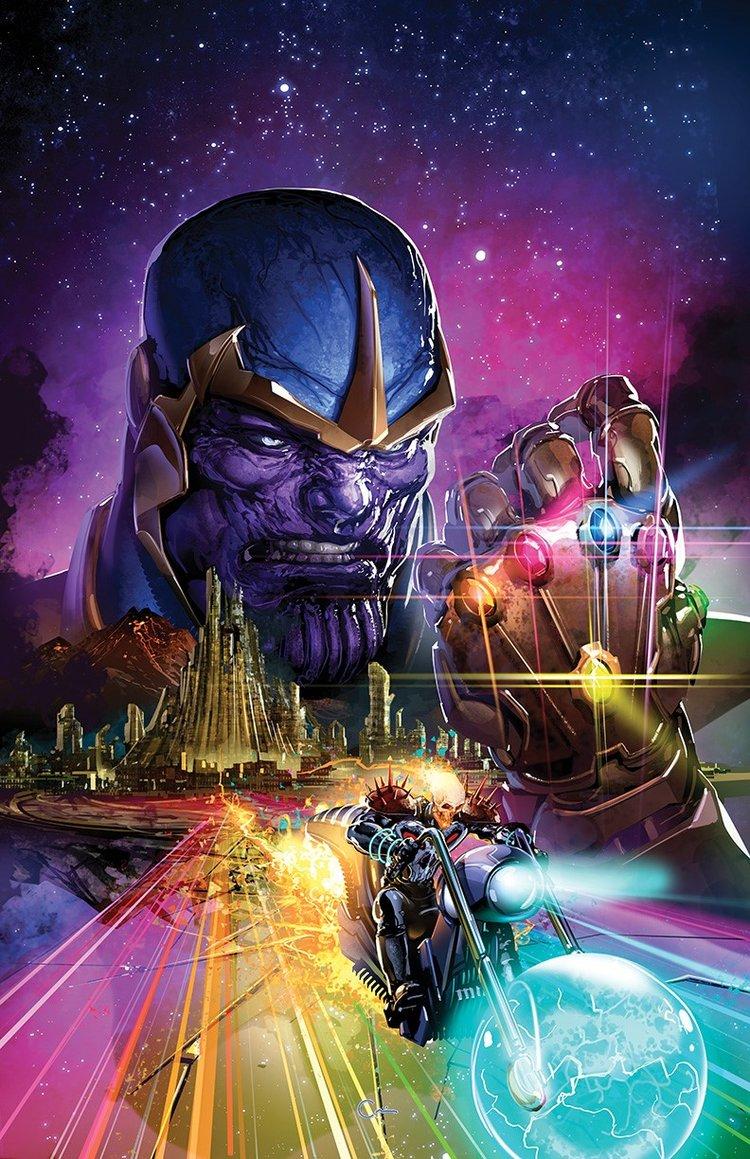 Thanos Legacy #1 Clayton Crain Virgin Variant