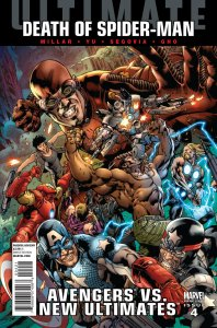 Ultimate Avengers vs. New Ultimates #1 Bryan Hitch Variant