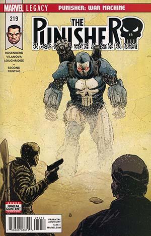 Punisher #219 2nd print
