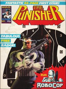 Punisher Magazine UK #1