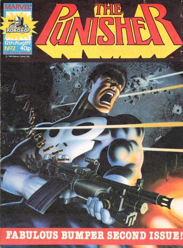 Punisher Magazine UK #2