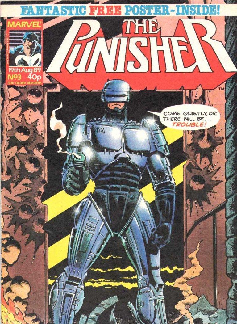 Punisher Magazine UK #3
