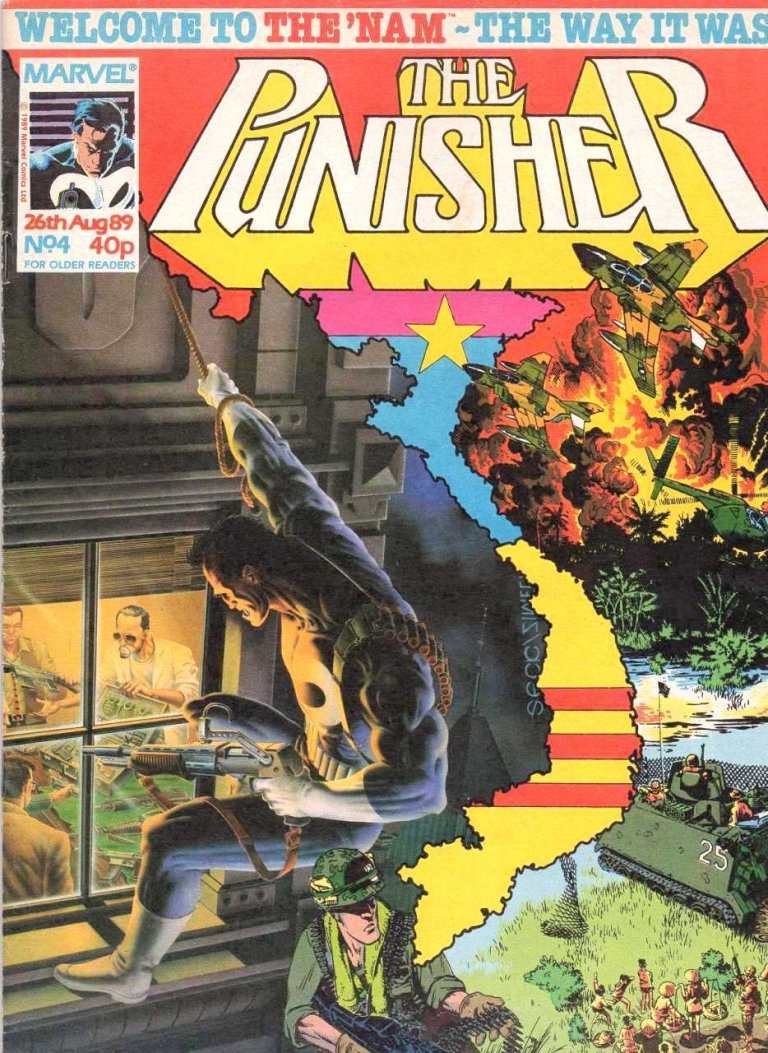 Punisher Magazine UK #4
