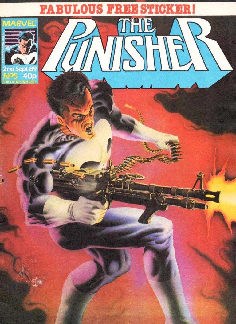 Punisher Magazine UK #5