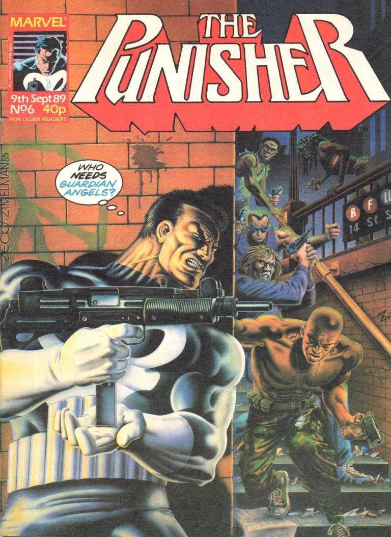 Punisher Magazine UK #6