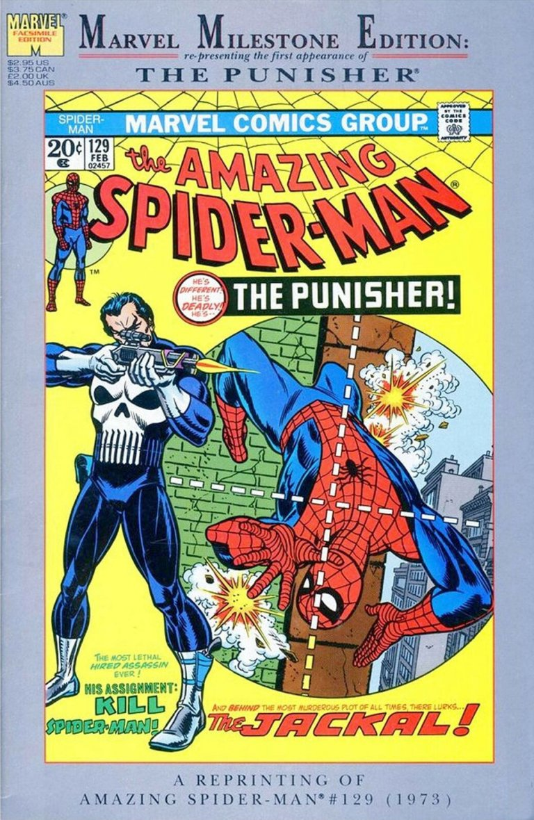 Amazing Spider-Man #129 Marvel Milestone Edition