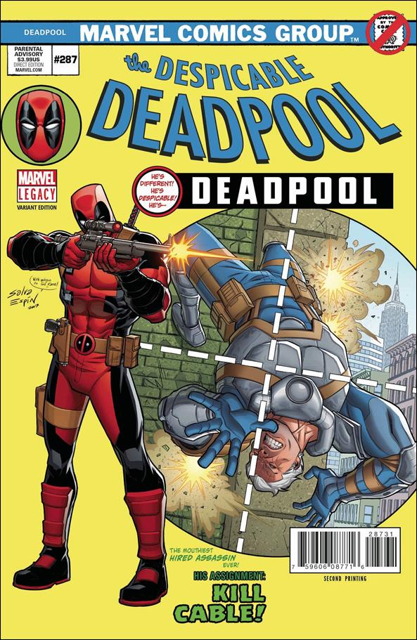 Despicable Deadpool #287 2nd Print