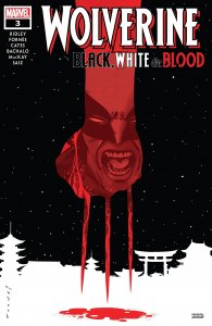 Wolverine Black, White & Blood #3 cover