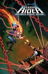 Cosmic Ghost Rider Destroys the Marvel History #6 Kim Jacinto variant